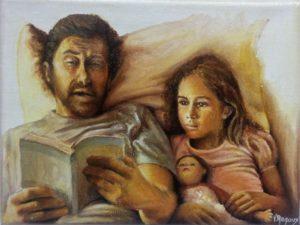 """Privilège"" - Huile sur toile 18 x 24"