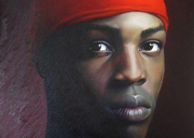 """""""Homme au bonnet rouge""""  🔴 N°2"""